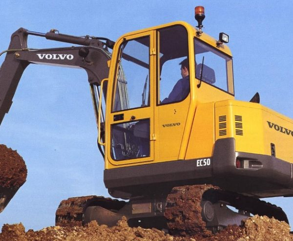 Volvo EC50 Hydraulic Pump - Dynamic Pumps